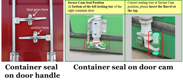 Image of container seals
