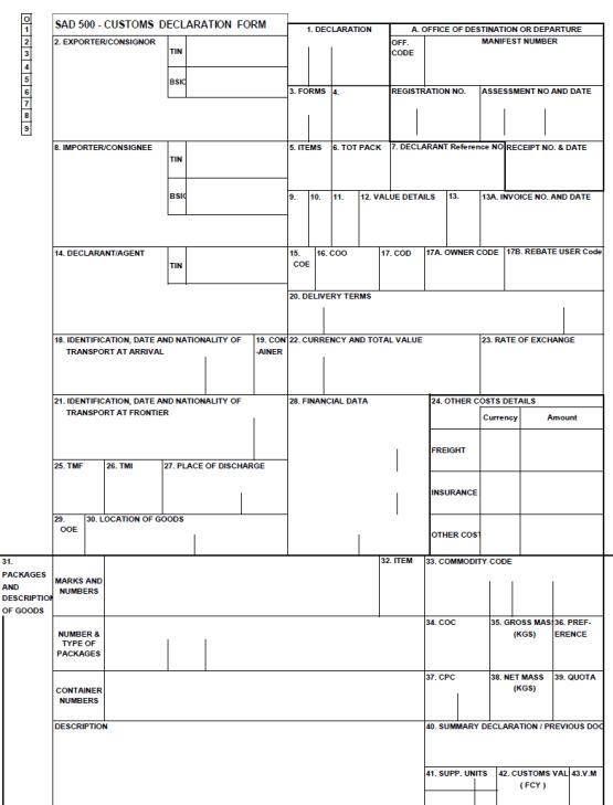 Bill Of Lading Vs Customs Documents - Invoice vs bill