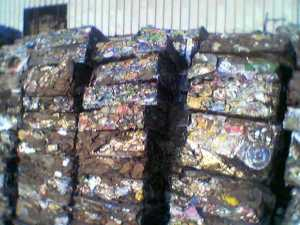 baled lms scrap - Cargo types and packing method in containers