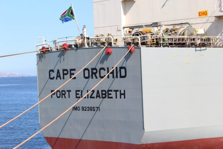 Updating british ships registration