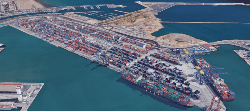 Port of Valencia - Blockchain - shipping and freight resource