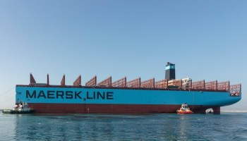 Serious fire on Maersk Line container vessel Maersk Honam