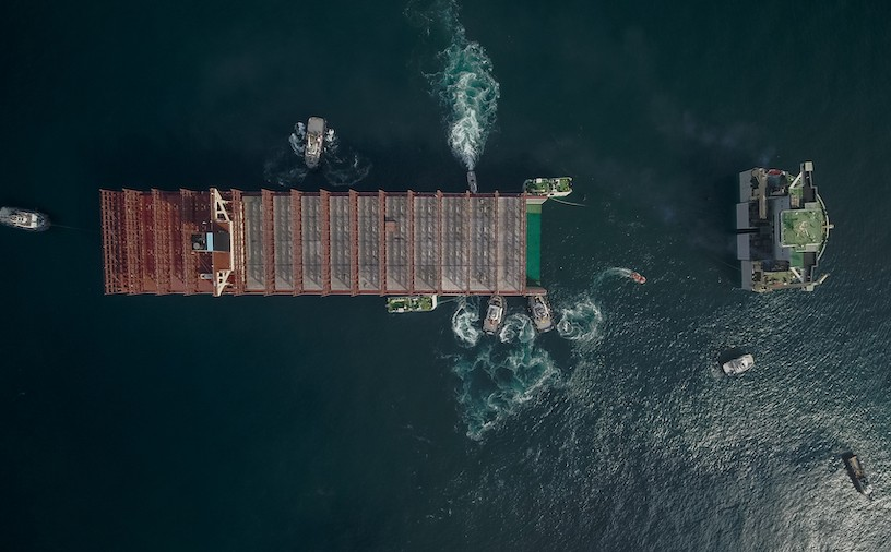 Fire stricken Maersk Honam on its way to be resurrected - shipping and freight resource