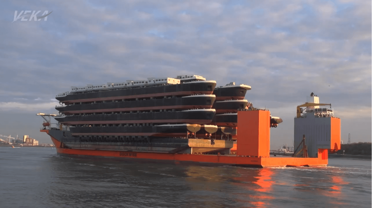 Ship of all ships - the mighty BLUE MARLIN and heavy lift ships