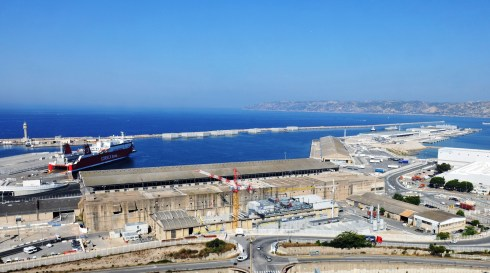 marseille fos port to pilot blockchain - shipping and freight resource