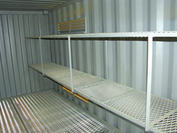 Hazardous Goods Shelving