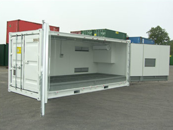 Insulated Hazardous Goods Shipping Container