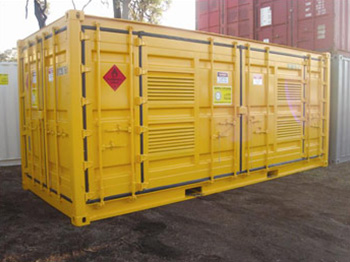 Hazardous Goods Box Flammable Liquids