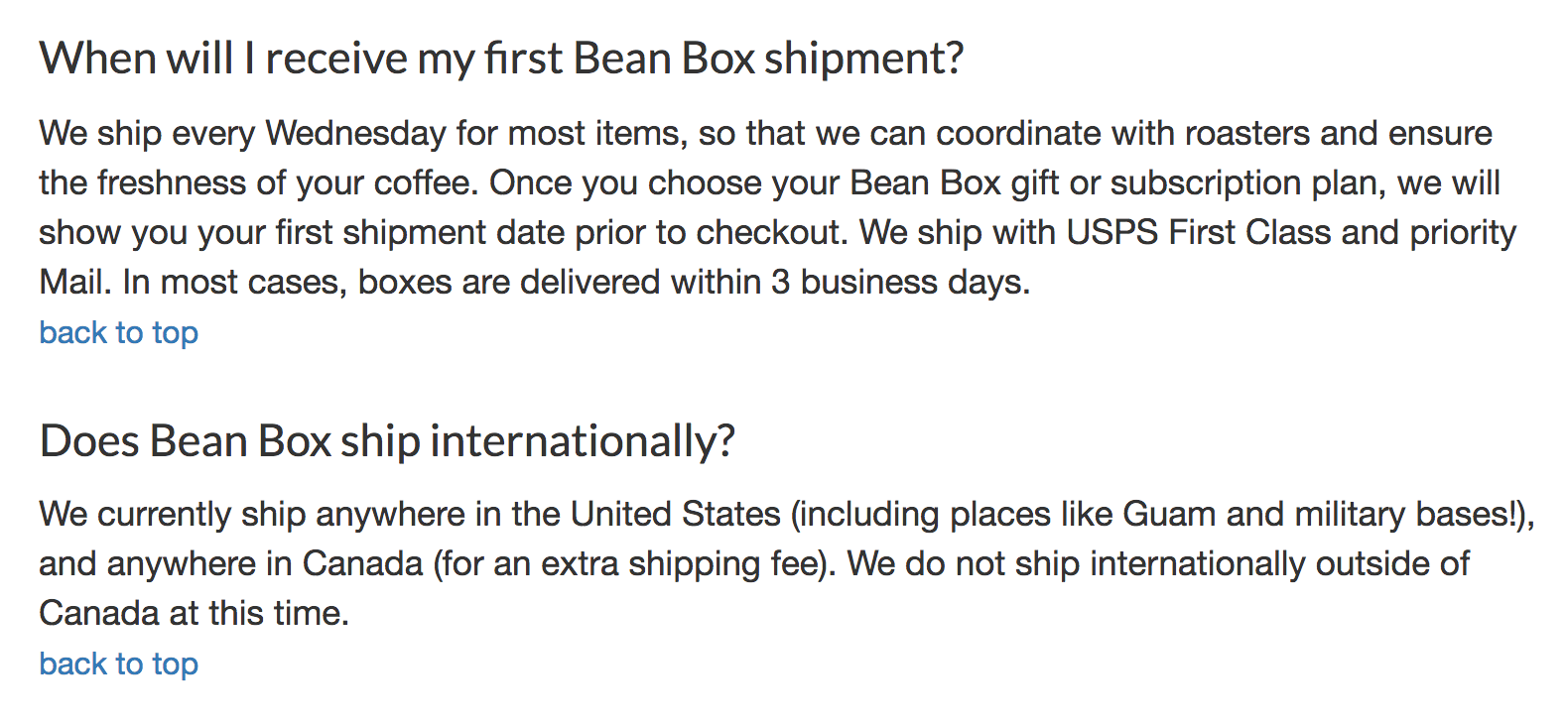 09/10/2020· use this return policy generator to create a return policy that protects your store and builds trust with shoppers. 3 Shipping Policy Examples For E Commerce Businesses Shippo
