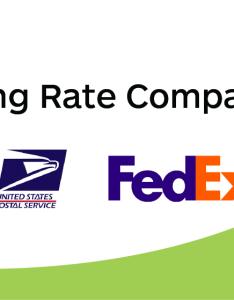 Ups vs usps  shipping rate comparisons also fedex shippo rh goshippo