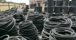 Image result for S.O.N. seizes fake cables at Lagos warehouse