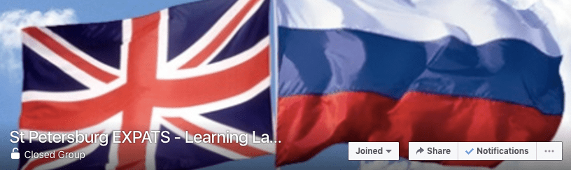 Spb Expats Learning Languages group - Facebook resources for expats in St. Petersburg