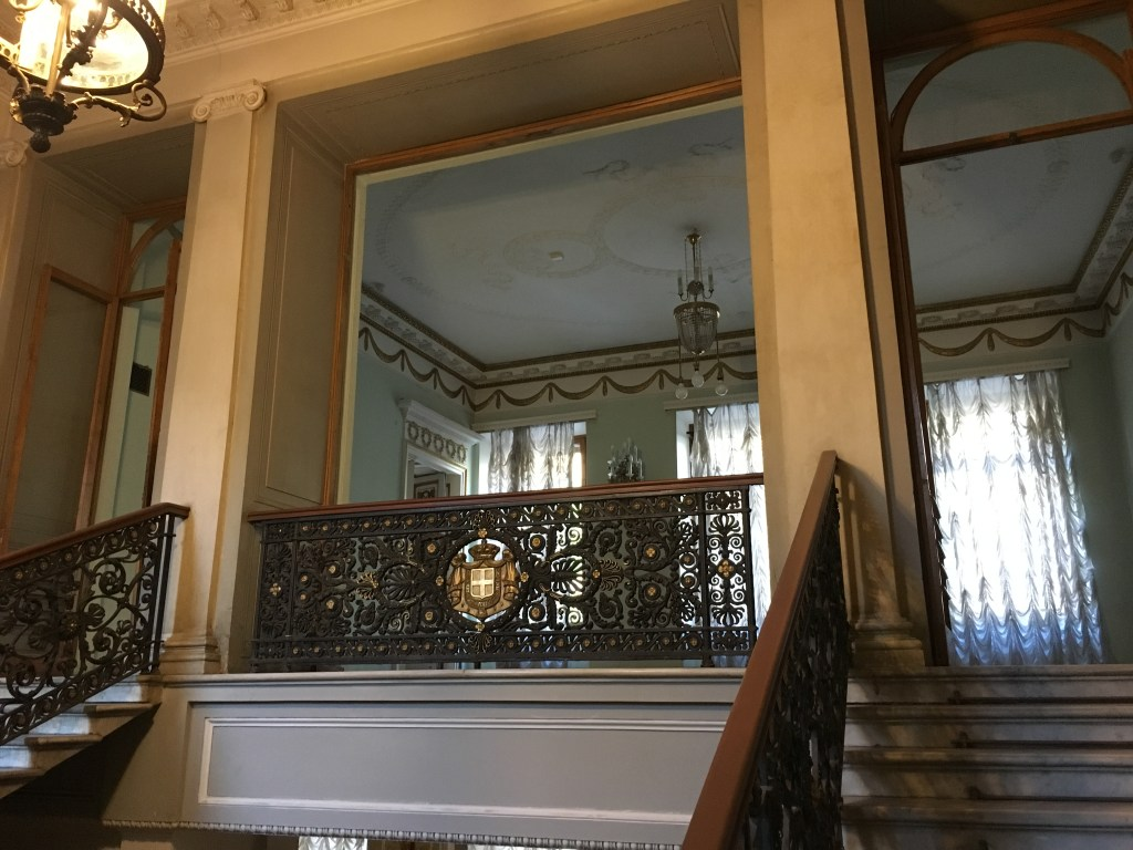 Staircase at the Demidov Mansion