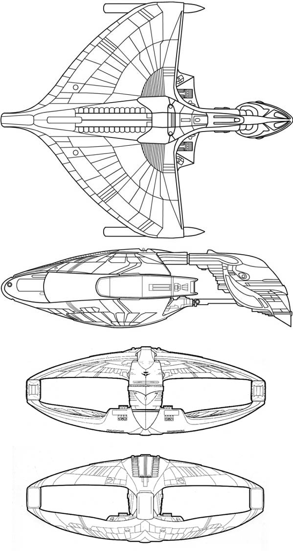 Romulan Showdown: D'Deridex-Class vs. Valdore-Type (Mogai