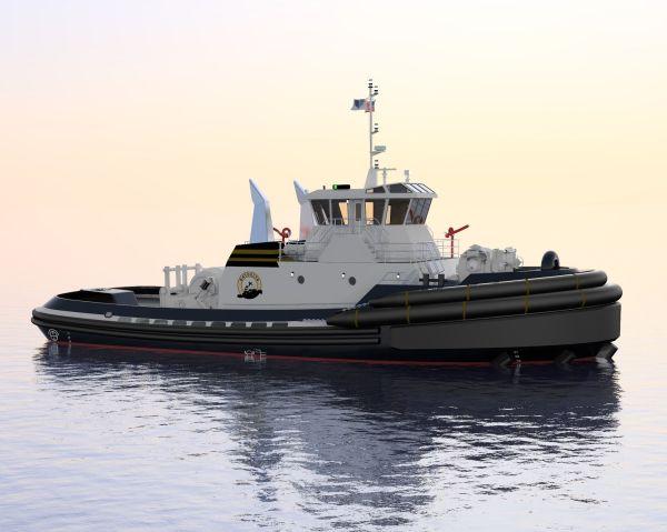 Jensen Maritime Design Tractor Tug Ships Monthly