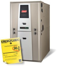 Coleman Echelon Furnace Series | Shiptons Heating and Cooling