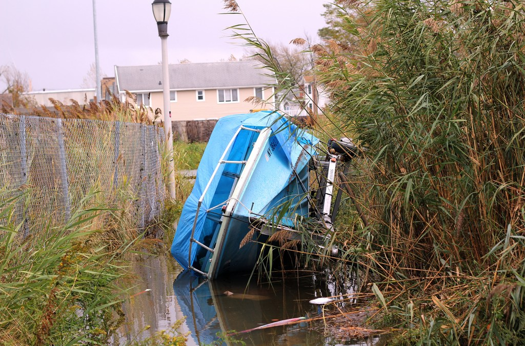 Weather After Hurricane Sandy Hurts Boat Repairs