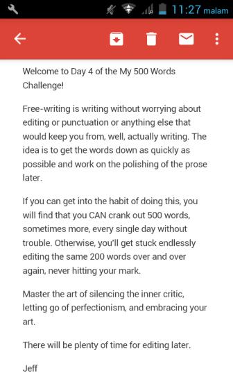Cara menggunakan teknik menulis bebas