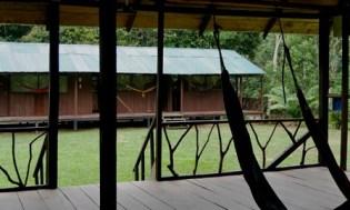 Shiripuno Lodge - View from the Hammocks Lounge