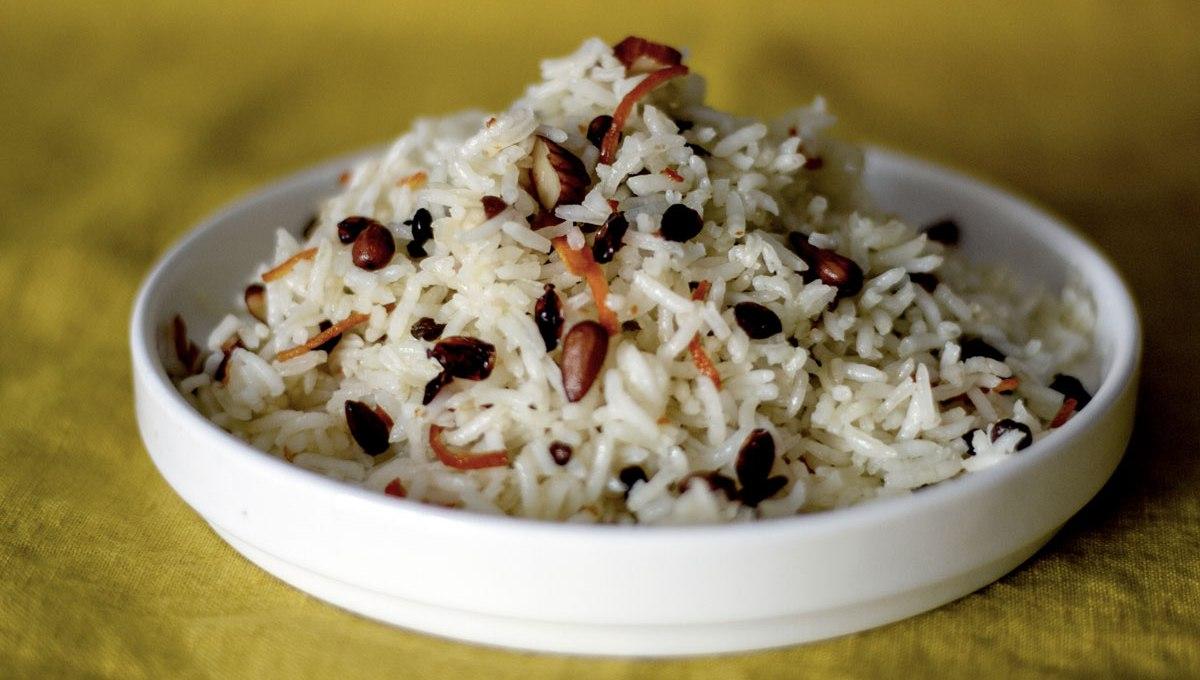 riz aux bijoux, recette végétarienne, recette vegan, recette sans gluten, épices biologiques, cuisine iranienne, Épices Shira