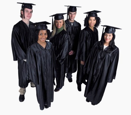 Young Graduates --- Image by © Royalty-Free/Corbis