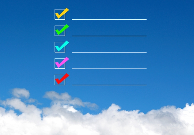 日常業務の「TO DO リスト」と「日程表」の作成
