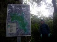 ここから世界自然遺産緩衝地域。