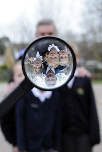 School talk by Police Forensics team