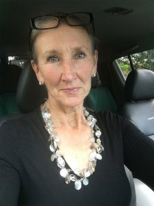 Car Selfie of Photographer Shiralee Swan
