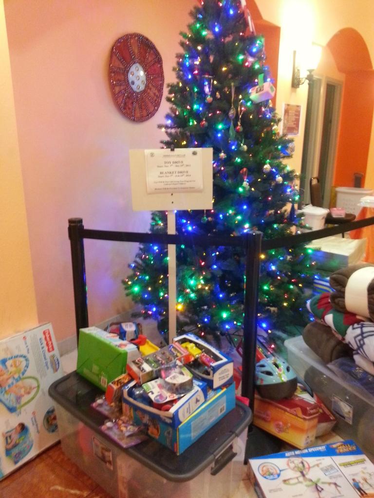 SSP Toy & Blanket Drive Dec 2013