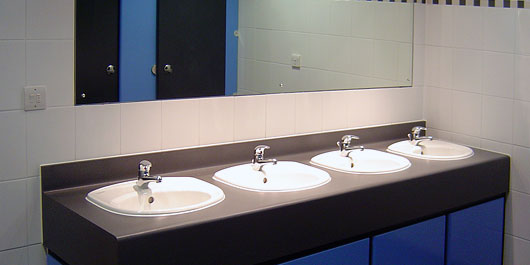 Shire Integrated Systems  Commercial washroom installations