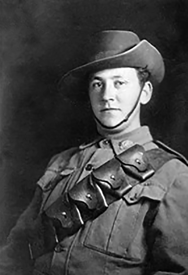 George Albion Cowley, courtesy National Archives of Australia (Your story, our Anzac history)