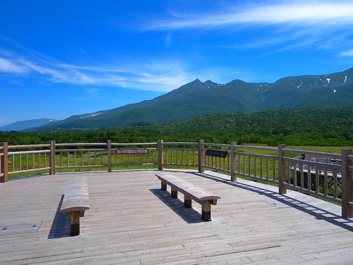 知床五湖高架木道連山展望台