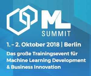 ML Summit banner