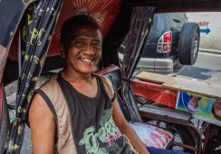 Tricycle Man. Quiapo January 2016