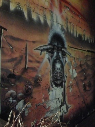 Some graffiti for a club