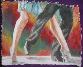 High Stepping IV, also available as a giclée and greeting card