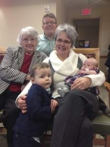 four generations -- all have stories