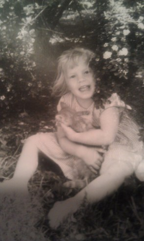 My youngest sister Linda loved animals most of all of us. Not surprisingly, today she works at Lititz Veterinary Clinic.