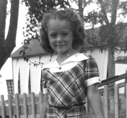 First day of school, 1955