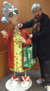 Hamming it up with Maxine in Kansas City