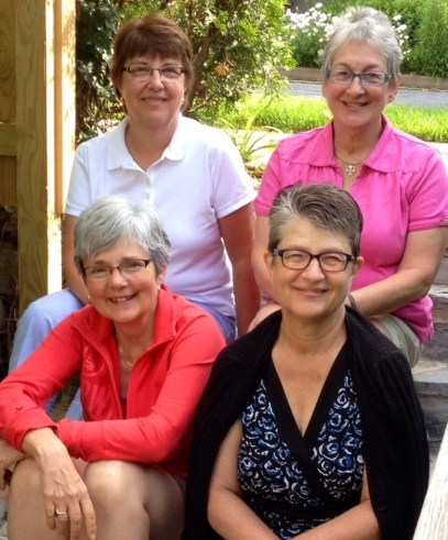L-R Shirley, Mary, Tina, Gloria