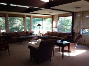 The Linwood Living Room where we told our stories
