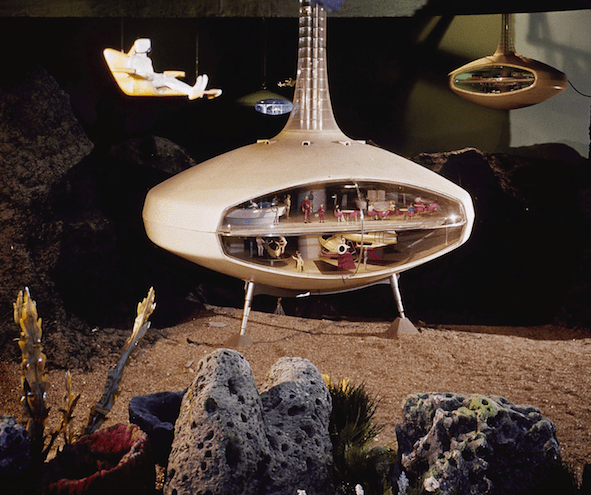 The diarama of an undersea hotel from the 1964 World's Fair, from NPR Planet Money website