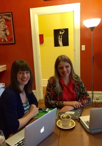 Emily and Kate, ready to serve up the challenges and suggest solutions.