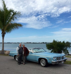 A memorable ride in a 1975 Olds 88 on Stuart's birthday