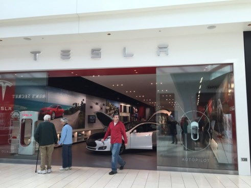 Tesla Motors Showroom in Sarasota