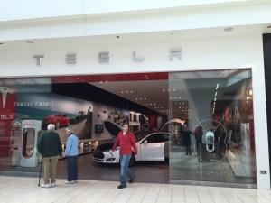 Tesla Motors Showroom in Sarasota