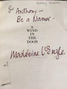 Be a Namer: An Admonition