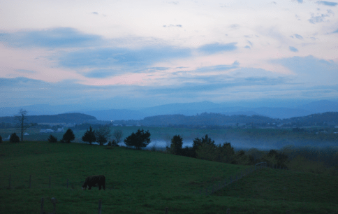 The Shenandoah Valley last Spring